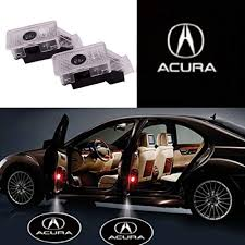 2019 Acura Rdx Puddle Lights Ihex Auto 2pcs Car Door Lights Led Logo For Acura Ghost Shadow Lights Door Projector Lights For Mdx Rlx Zdx Tlx Tl Entry Welcome Lights Courtesy