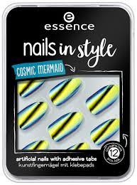 <b>Накладные ногти</b> essence nails in style 07 cosmic mermaid купить ...