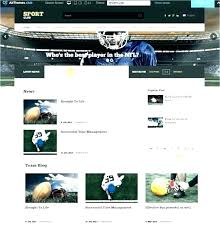 Newspaper Website Template Free Download Sports News Portal Free Bootstrap Magazine Template Sports