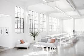 picnic office design. Picnic Dining Area In Everlane\u0027s Lofty White Office SF, Carlos Chavarría Photo | Remodelista Design E