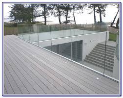 glass deck railing systems s edmonton calgary toronto