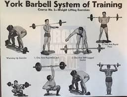 york barbell weight. york barbell system of training course 3 weight