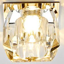 Встраиваемый <b>светильник Ambrella light</b> Glass D1041 CL/G ...