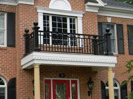 House Railings Exterior Railings Gallery Compass Iron Works