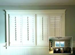 cost of shutters. Costco Window Treatments Plantation Shutters Corner With Asap Blinds Cost Hunter Of