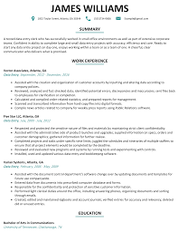 Order Entry Clerk Sample Resume