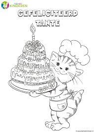 Ithin 5 Gelukkige Verjaardag Kleurplaten 16152 Tropicalweather