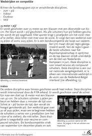 Inhoudsopgave Geschiedenis Van De Handboog 2 Handboogsport 2 Fita