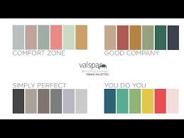 Valspar Sandstone Color Chart Valspar Colors Of The Year 2016