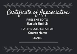 Certificate Of Appreciation Text 100 Certificate Of Appreciation Templates To Choose From