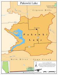 Snipe Lake Depth Chart Pakowki Lake Alberta Wilderness Association