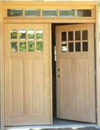 craftsman double front door. 8 Lite Craftsman Style Double Entry Doors With 5-Lite Transom Optional Dentil Shelves Front Door