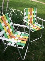 old folding chairs for sale. retro folding lawn chairs set of 2 old for sale
