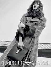 GRETA FERRO FOR EMPORIO ARMANI - FALL 2020 CAMPAIGN :: WhyNot Blog