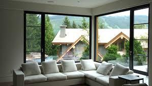 View in gallery Corner sofa for a corner window