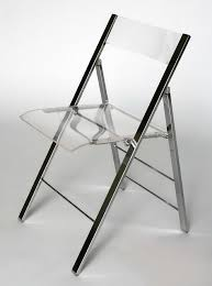 excellent baxton studio acrylic foldable chair throughout clear folding chairs attractive