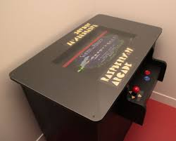picture of raspberry pi arcade table