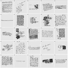 英語の手書き文字と消印のベクター素材 無料素材イラストベクターの