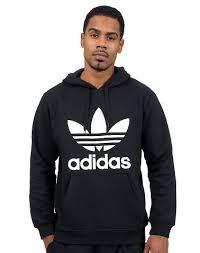 adidas hoodie mens. adidas mens adi trefoil pullover hoodie black hoodie mens