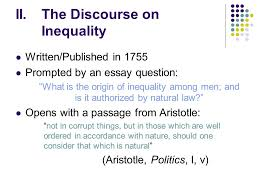 jean jacques rousseau the discourse on the origin and foundations  5 ii