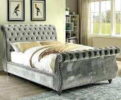 tufted upholstered sleigh bed. Fine Upholstered Upholstered Tufted Sleigh Bed  Cotswold  In Tufted Upholstered Sleigh Bed