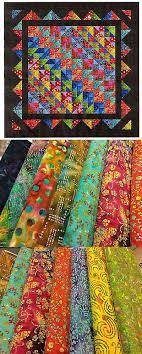 Quilting Kits 19160: Easy Quilt Kit Brilliant Diamonds Batik ... & Quilting Kits 19160: Easy Quilt Kit Brilliant Diamonds Batik Tonals Pre-Cut  Fabrics Ready Adamdwight.com