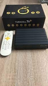 Huzurevler içinde, ikinci el satılık Siyah Turkcell TV Plus