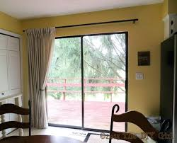 ideas for sliding glass doors window treatments in living room door curtains blinds patio with decorating