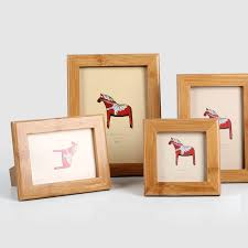 japan style home decor photo frame wooden new design creative