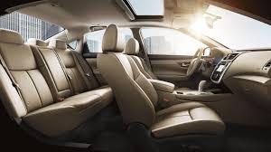 2018 nissan altima interior.  Altima 2018 Nissan Altima 35 SL Interior Design Shown In Beige Leather Inside Nissan Altima