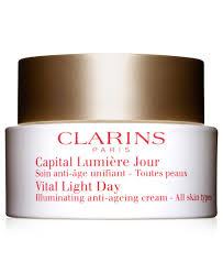 Vital Light Day Cream Clarins Vital Light Day Cream All Skin Types Cream For