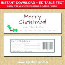 Personalized Candy Wrapper Template Free Printable Bar Wrappers
