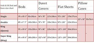 uk bedding size duvet cover size measurements sweetgalas throughout king in cm
