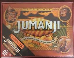 Wooden Jumanji Board Game NEW JUMANJI BOARD GAME WOOD CARDINAL EDITION IN REAL WOODEN BOX 42