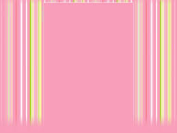 Cute Pink Image Frame Backgrounds For Powerpoint Templates
