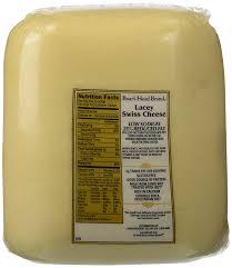 Boars Head Lacey Swiss Natural Cheese Medium 0 50 Lbs