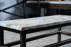 wooden table bases for granite tops stupefy brown wrought iron base with round cream top on