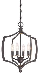 minka lavery middletown 4 light mini chandelier downton bronze