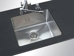 kitchen single stainless steel sink undermount undercounter sinks kohler inch base cabinet pendant over blanco anthracite