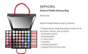salllee fast po sephora um palette makeup bag idr 515 000 jualmakeuppalette jualsephora