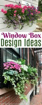 Flower Window Box Designs Beautiful Window Box Design Ideas From The Northeast