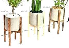Modern Plant Stands Indoor Pots For Plants Rack Pot  Mid Century  Metal Stand S73