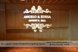 Uplighting Wireless LED Upight Lighting Rentals VanouverDecor Gobo Projector Rental Vancouver