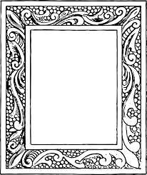 vintage black frame png. Color: Black JPEG Download | PNG Vintage Frame Png R