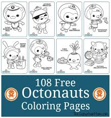 More than 600 free online coloring pages for kids: 108 Free Octonauts Printable Coloring Pages Thesuburbanmom
