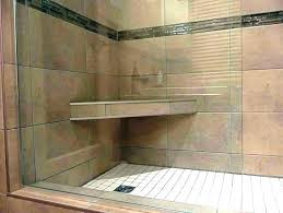 how to build a shower seat bench floating built in b