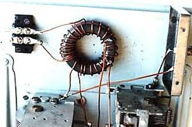 toroidal core single coil z match toroidal transformer in test rig