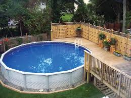 above ground swimming pool ideas. Above Ground Pool Ideas And Design Swimming O