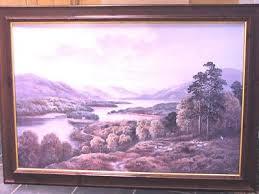 "WENDY REEVES ""Glen Affric"" Scottish Highlands Landscape Picture Painting    #309325051"