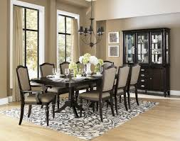 dining table with 10 chairs. Marston Rectangular Extendable Dining Table Media Gallery 1 With 10 Chairs E